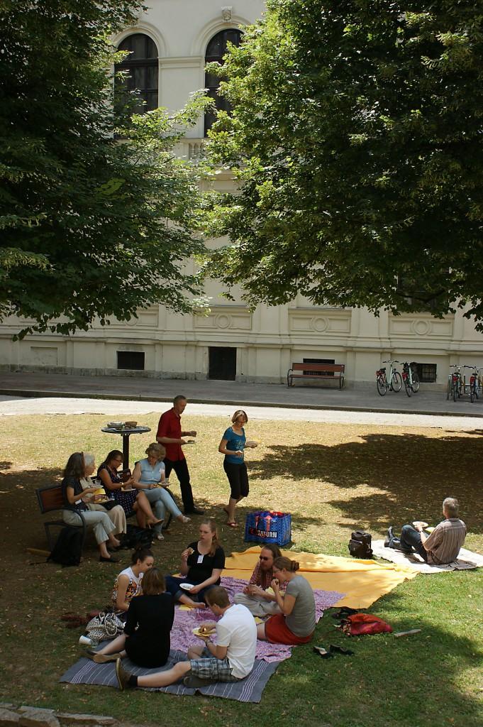 Picknick nach der Tagung / vor dem Kochbuchworkshop III